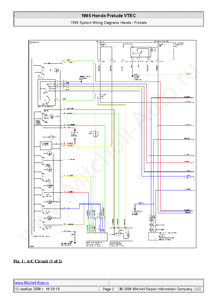 honda_prelude_vtec_1995_wiring_diagrams_sch.pdf_1 honda prelude vtec 1995 wiring diagrams sch service manual 1997 honda prelude electrical wiring diagram at mifinder.co