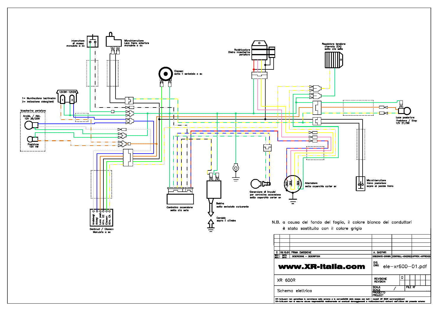 1995 xr600r wiring diagram   26 wiring diagram images