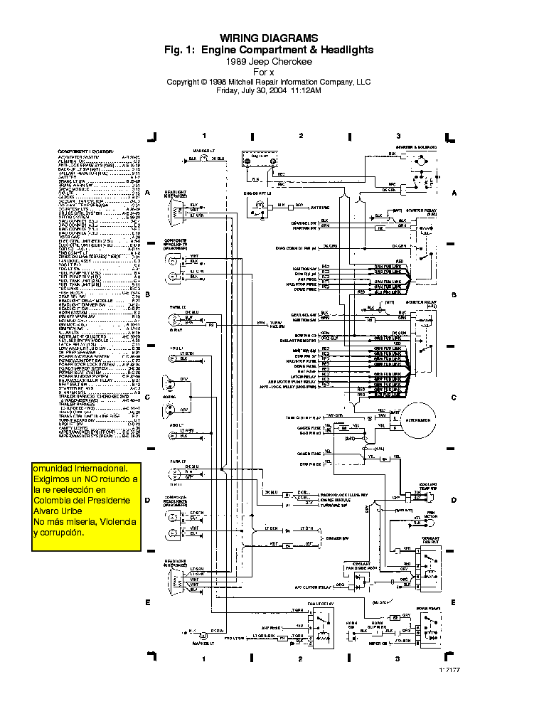 jeep-cherokee 1989 wiring-diagrams service manual (2nd page)