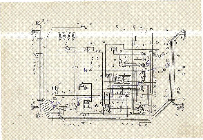 Moszkvics 2140 Wiring Diagram Sch Service Manual Download