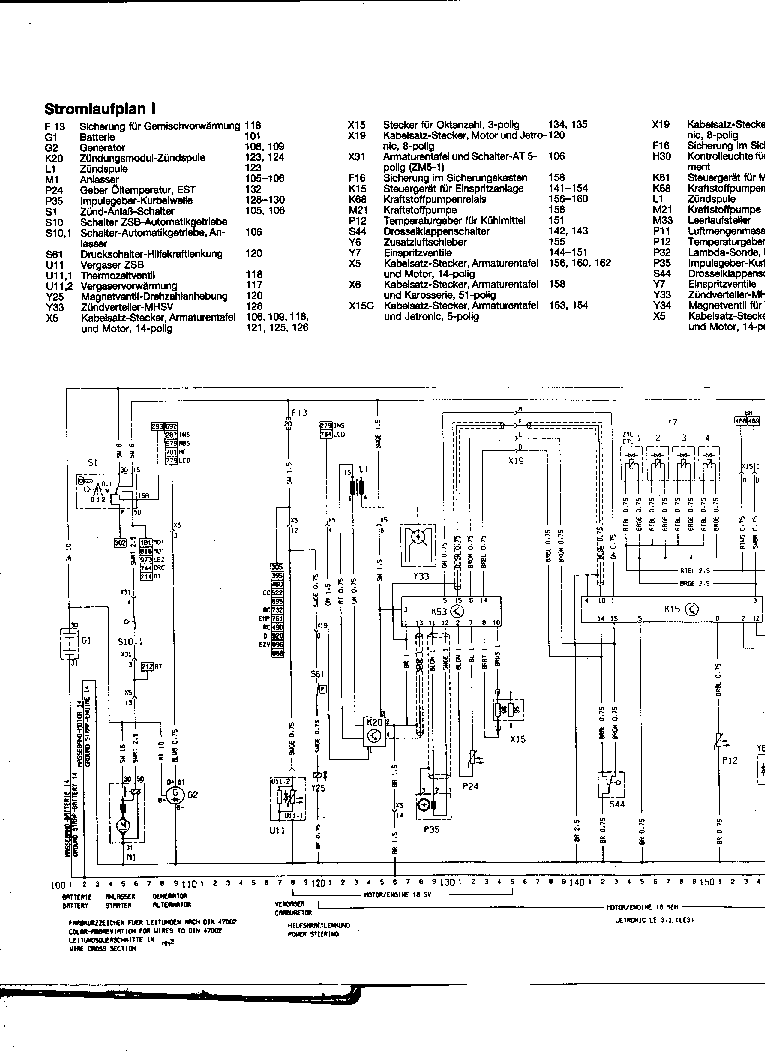 opel omega wiring diagram service manual (1st page)