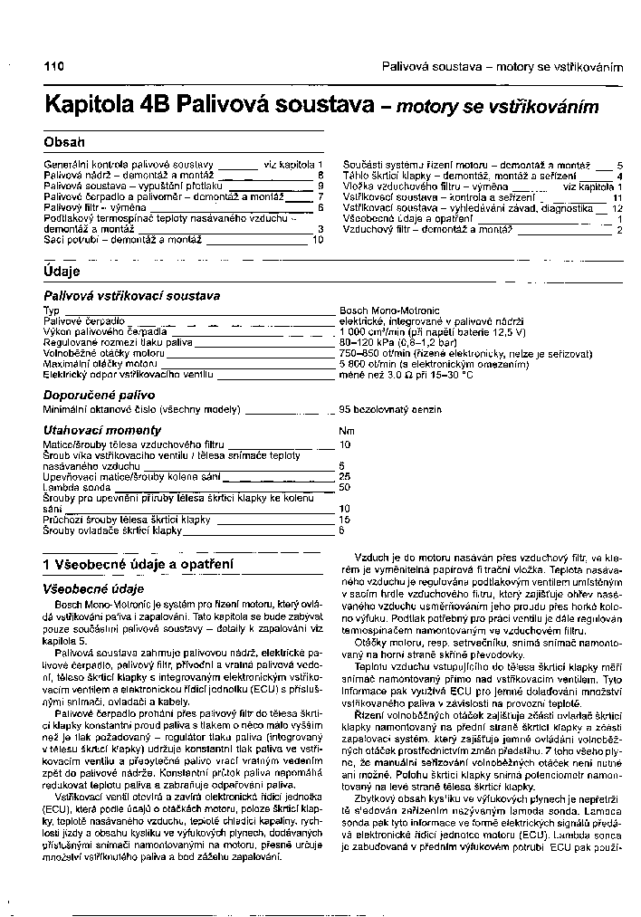 SKODA FAVORIT 4B SCH service manual (1st page)