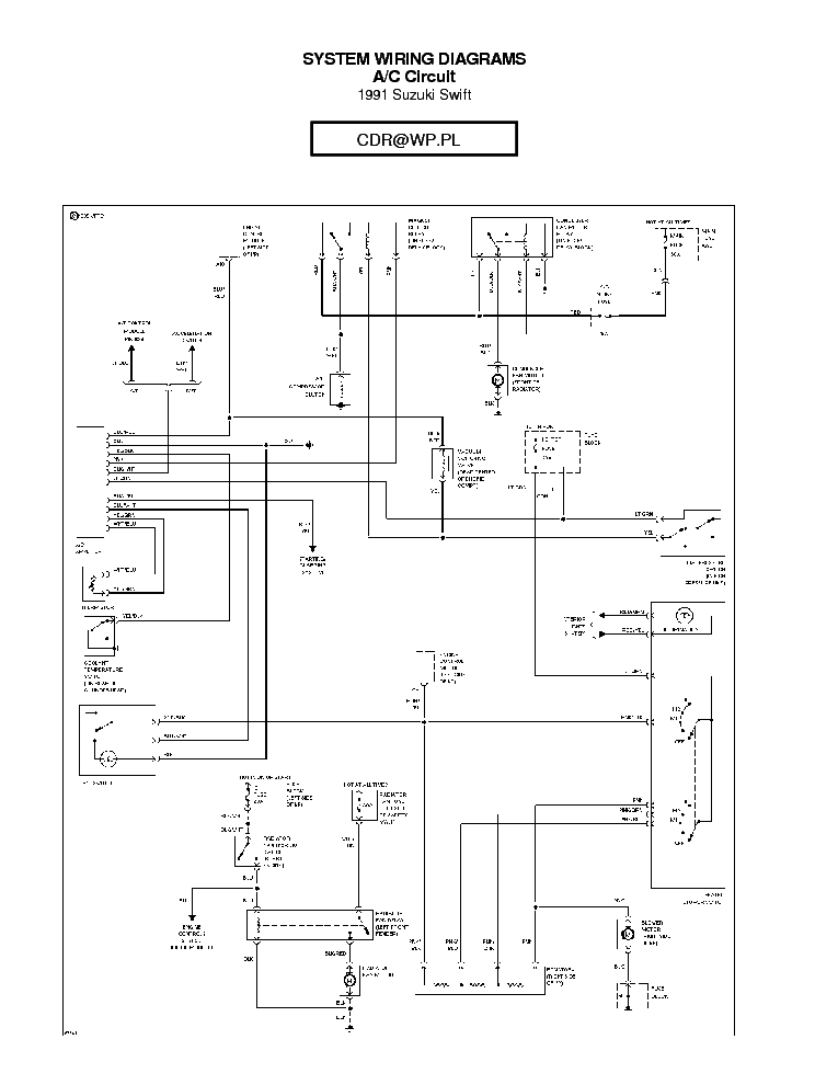 Maruti Wagon R Electrical Wiring Diagram Pdf