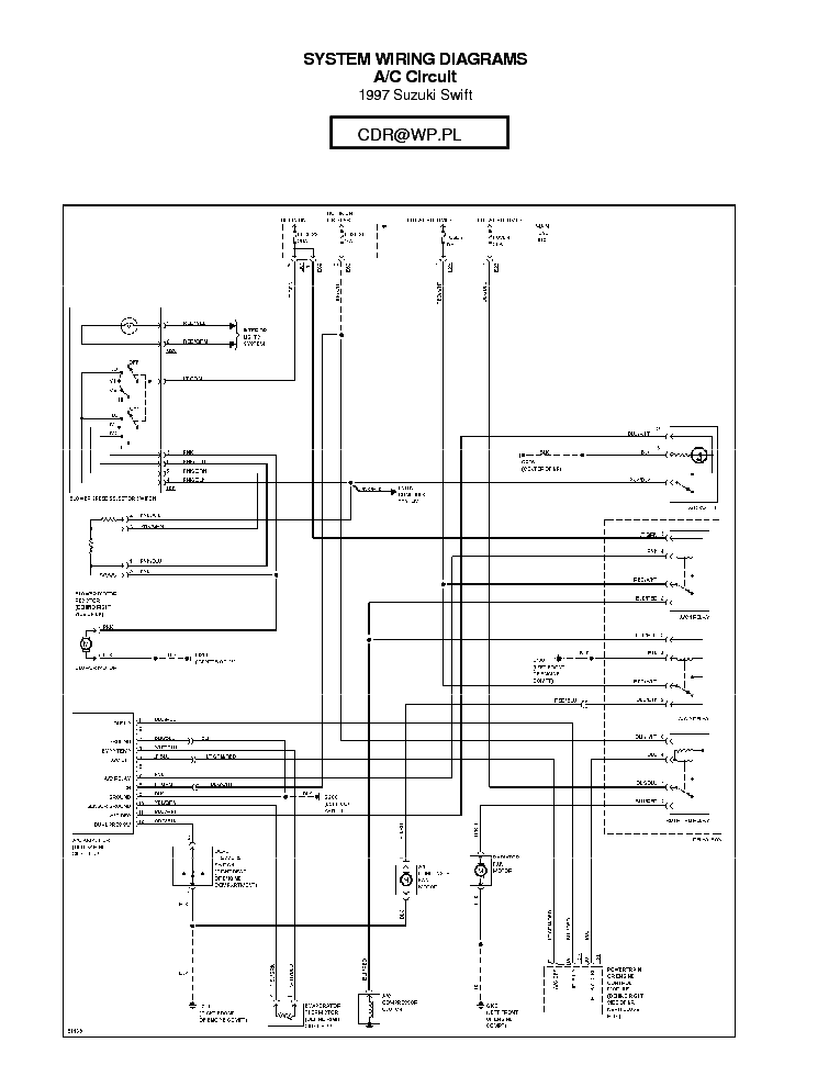suzuki swift 1997 sch suzuki swift 1998 1999 2000 2001 sch suzuki wagon-r  wiring diagram