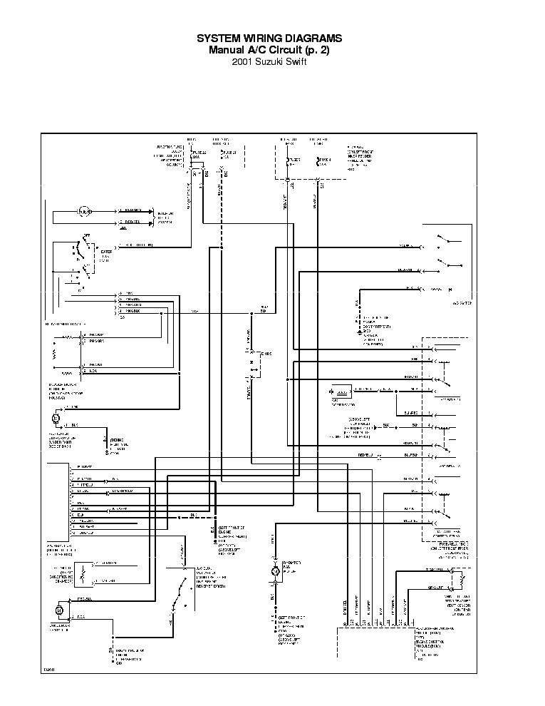 suzuki swift 1998 1999 2000 2001 sch service manual download, schematics,  eeprom, repair info for electronics experts  elektrotanya