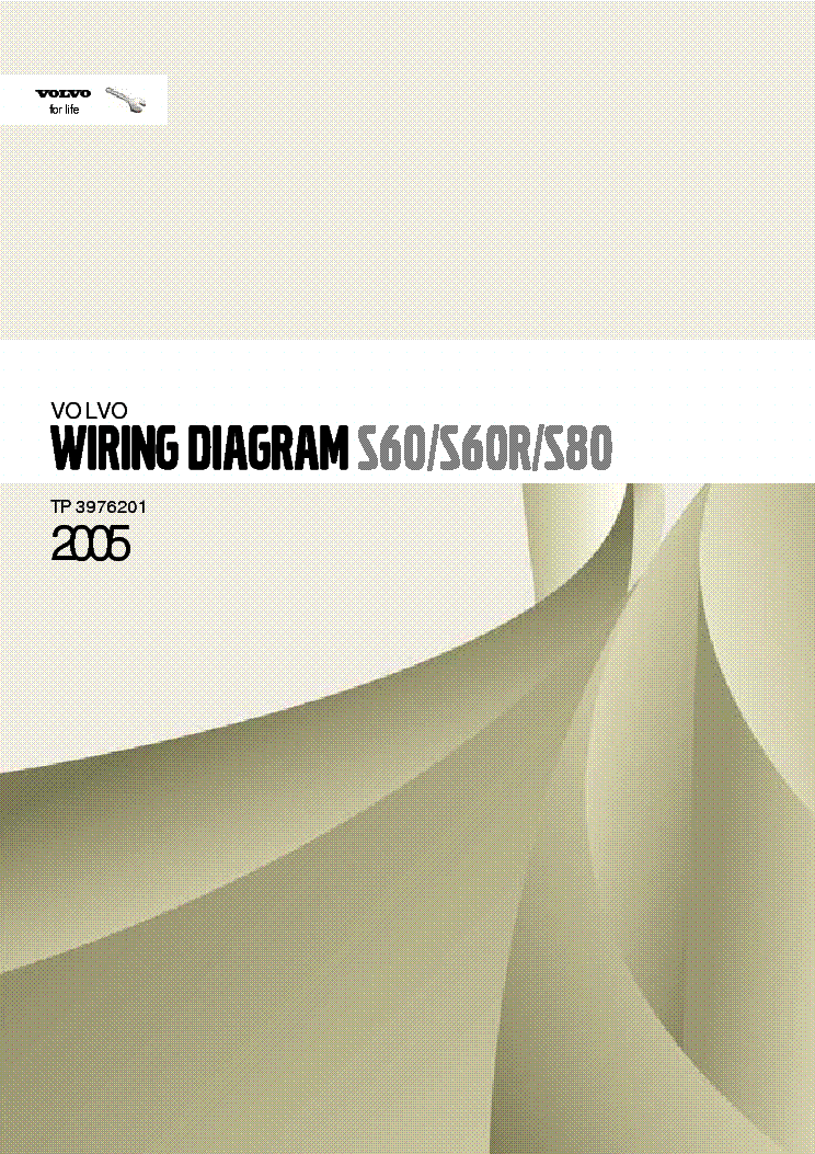 Volvo S60 S60r S80 2005 Wiring Diagrams Section 3 39 Service Manual Download  Schematics  Eeprom