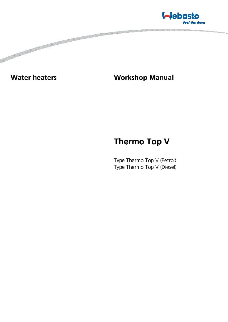 webasto fbh workshop manual thermo top v service manual download rh elektrotanya com webasto 2010 service manual webasto maintenance manual