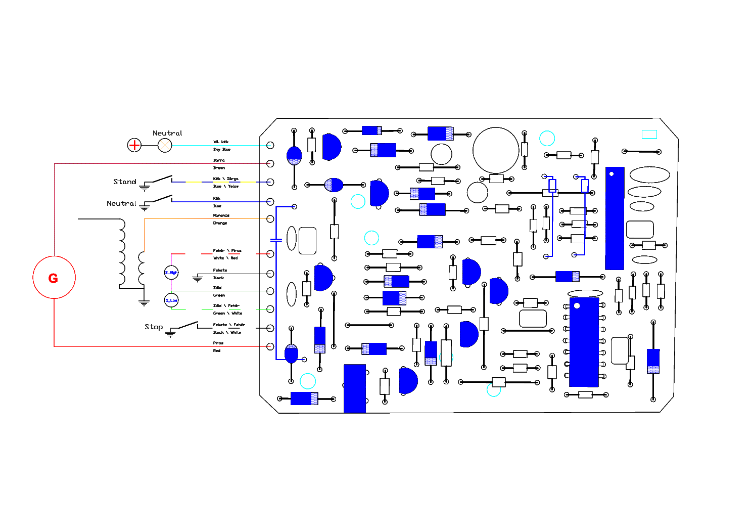 Yamaha Cdi Wiring Diagram Along With 1976 Yamaha Chappy Wiring Diagram