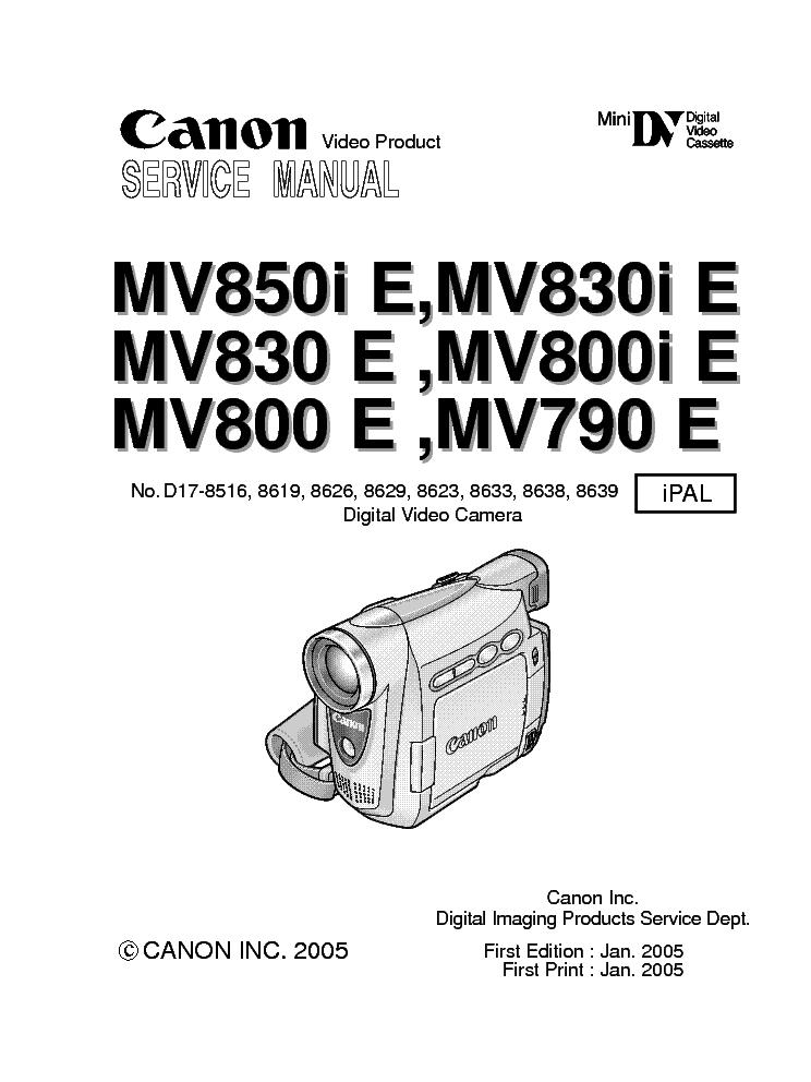 Canon Mv