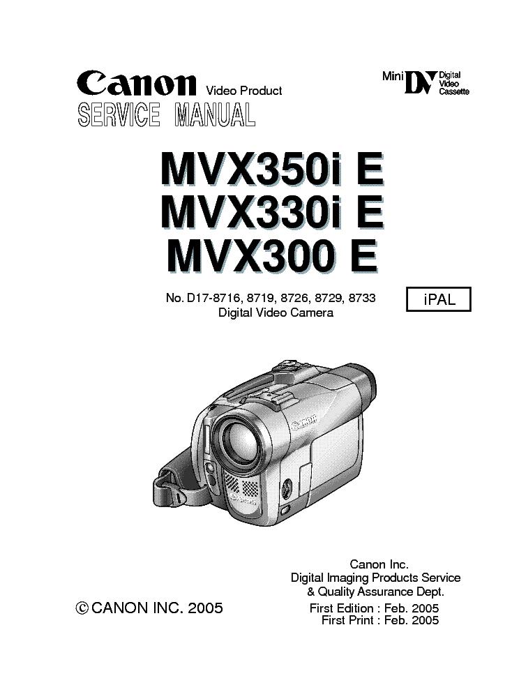 инструкция видеокамеры канон мв 590 художника