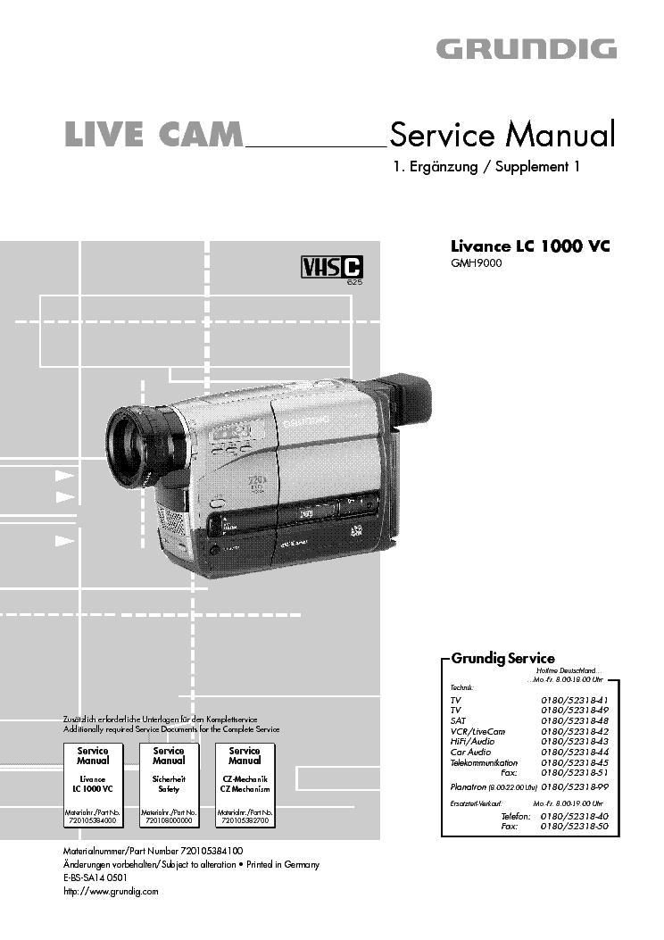 grundig livance lc 1000 vc service manual download schematics rh elektrotanya com grundig tk 248 service manual grundig v2000 service manual
