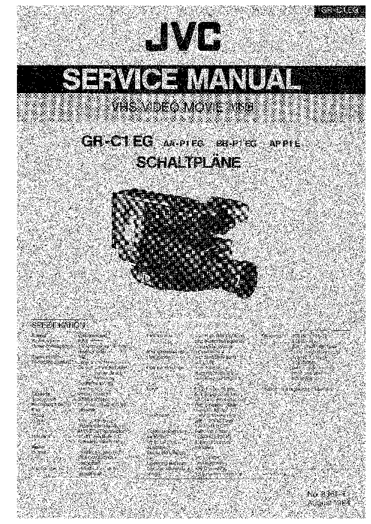 Jvc kd-r200 r201 r203 r207 s16 service manual service manual.