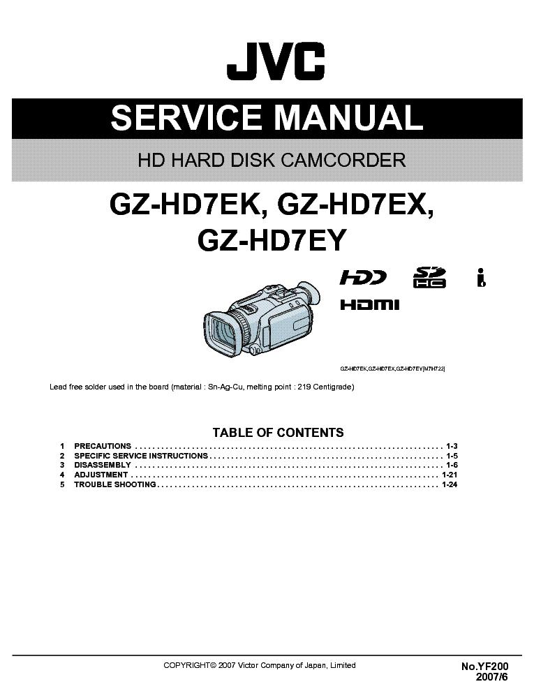 Ebook-8370] manual for everio gz hd7 | 2019 ebook library.