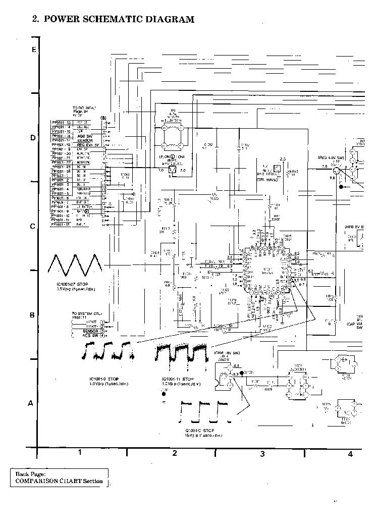 Схема для устройства Hitachi VM-H630.  1 раз.  Релевантные объекты.