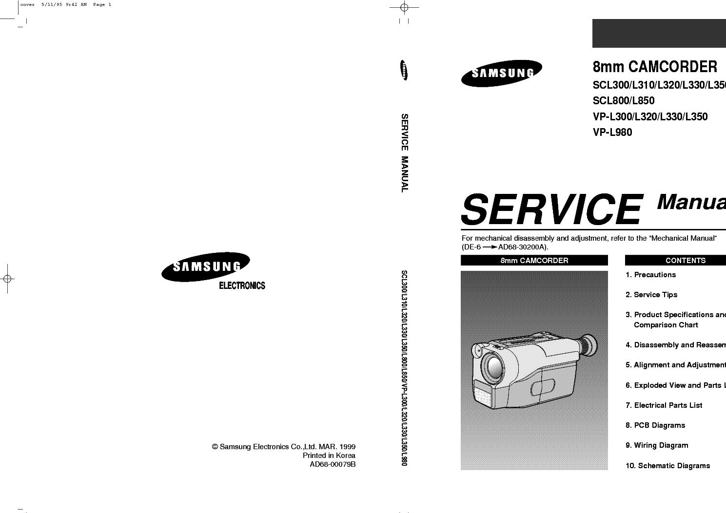 ...инструкция по ремонту, service manual Samsung, сервисная инструкция самсунг, schematic diagram, схема...
