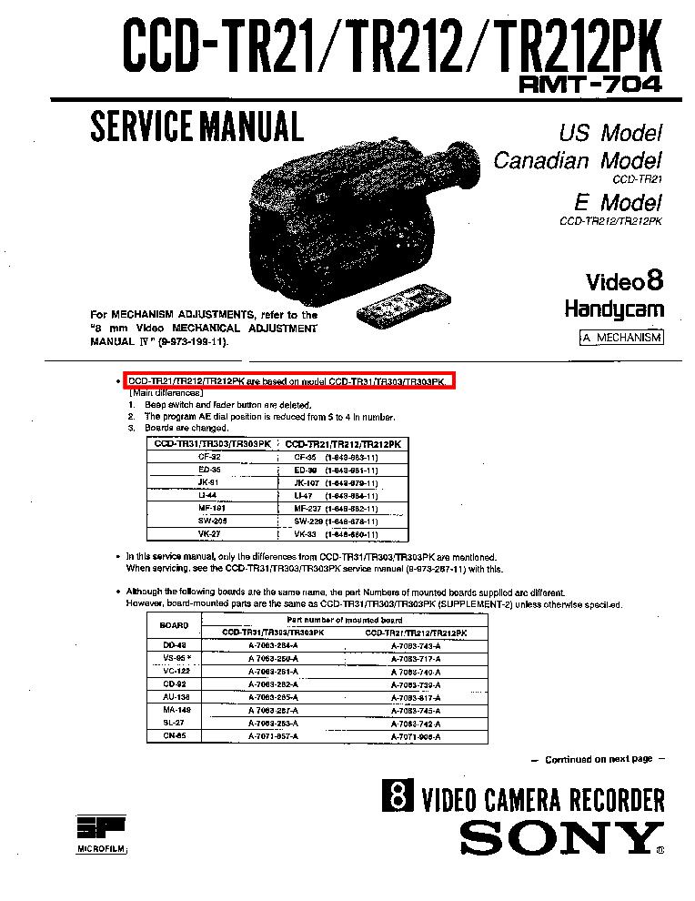 Triton tr 21 electrical Manual