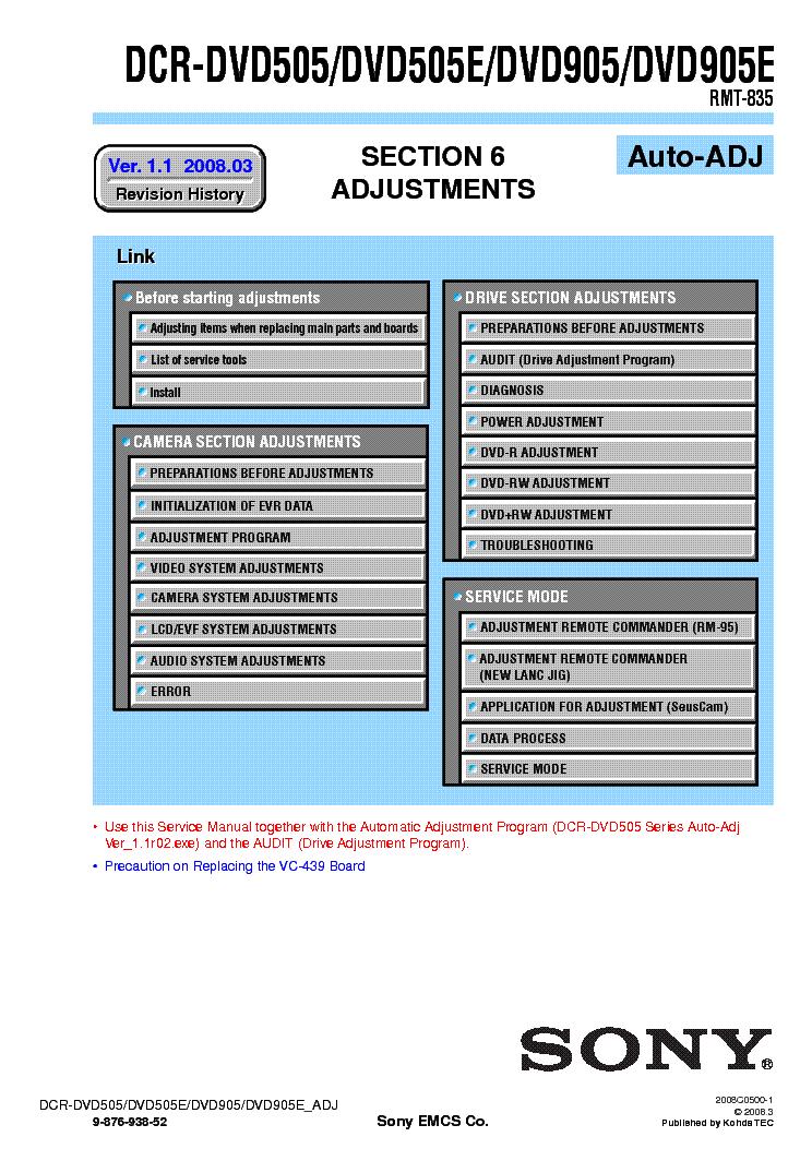 sony dcr sr47 manual pdf