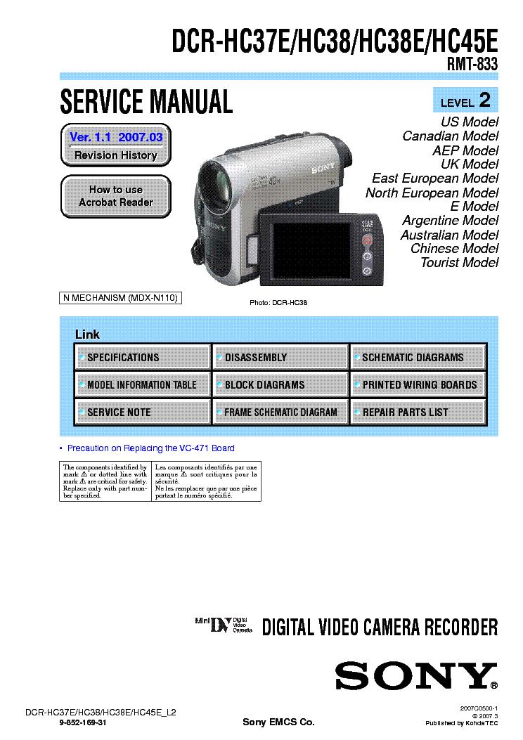 SONY HANDYCAM DCR-HC37 DRIVERS FOR MAC
