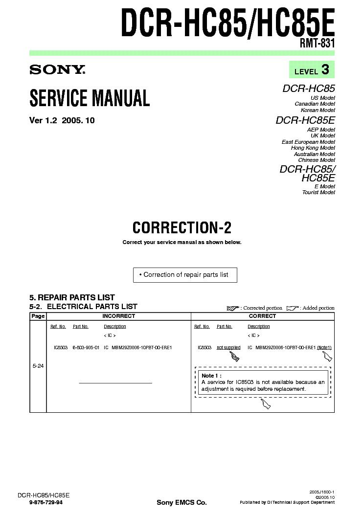 sony handycam dcr dvd610 manual