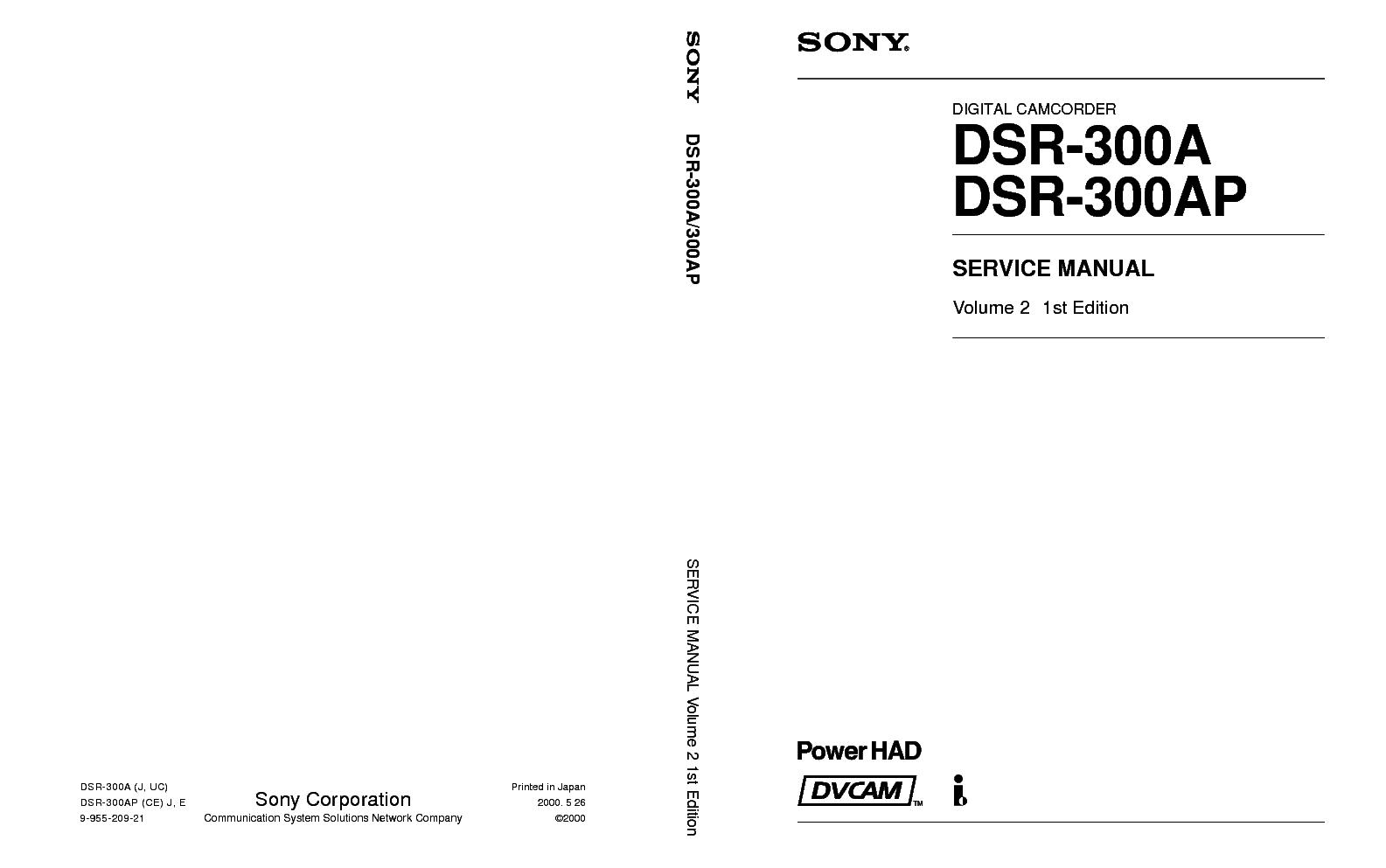 ... Array - sony dcr trv15 trv17 level 2 ver 1 3 service manual download rh  elektrotanya