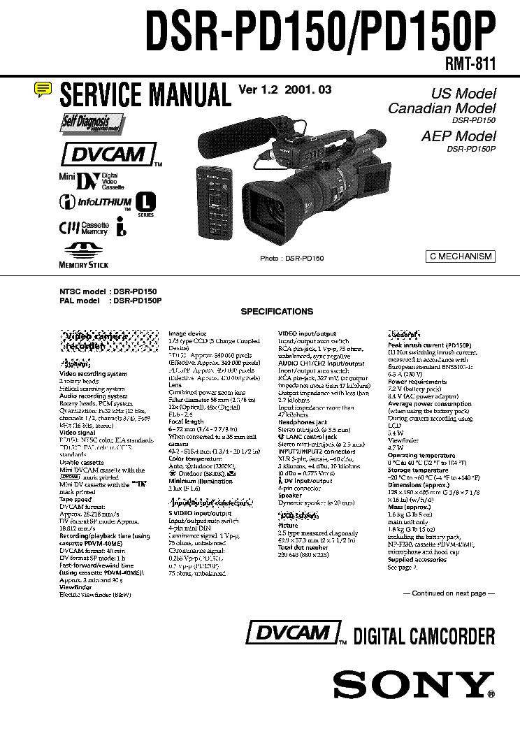 Инструкция пользования видеокамерой