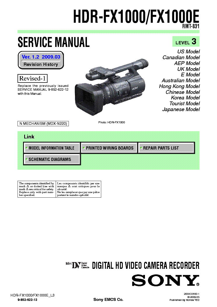 sony hdr ax2000 manual pdf