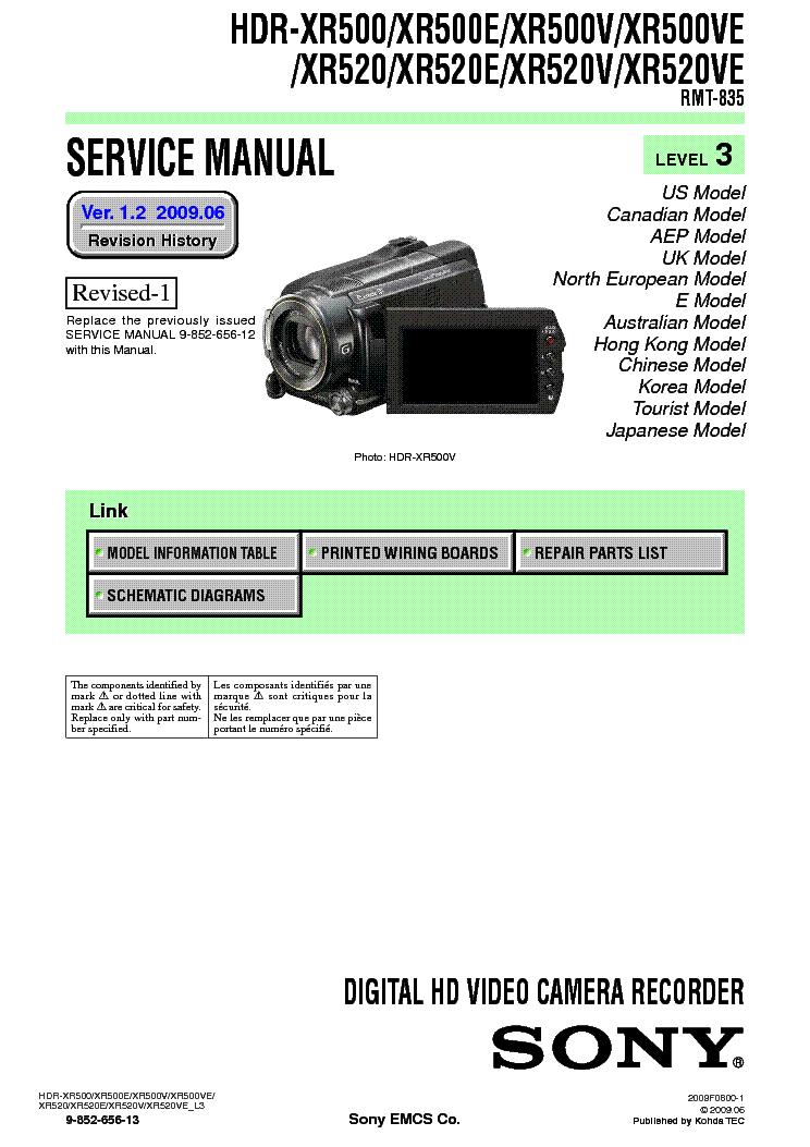 SONY HDR-CX505 mit 2 Testvideos