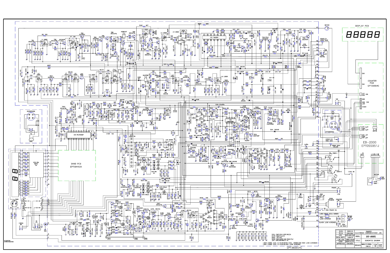 GALAXY DX88HL SCH Service Manual download, schematics, eeprom ...