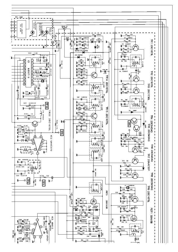 uniden pc122 sch service manual free download  schematics  eeprom  repair info for electronics