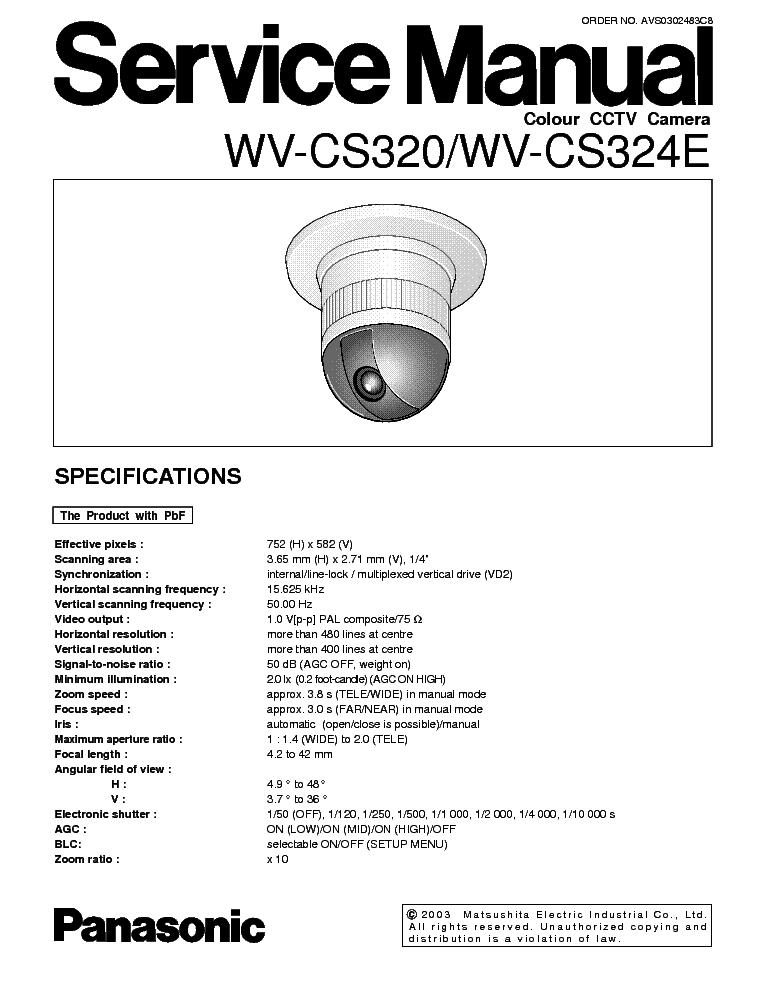 Инструкция Видеокамера Panasonic 250