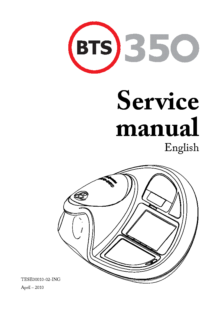 BIOSYSTEM BTS 350 User's guide, Instructions manual ...