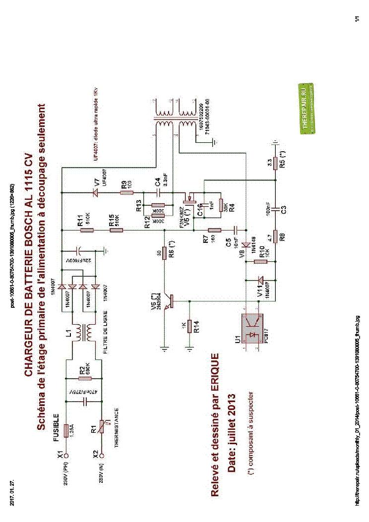bosch al 1115 cv charger sch service manual download