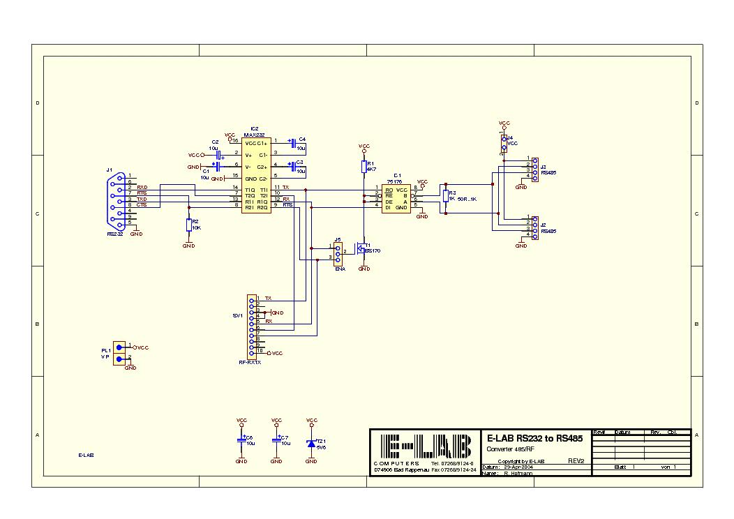 Протокол Подключения RS-232; RS-485;