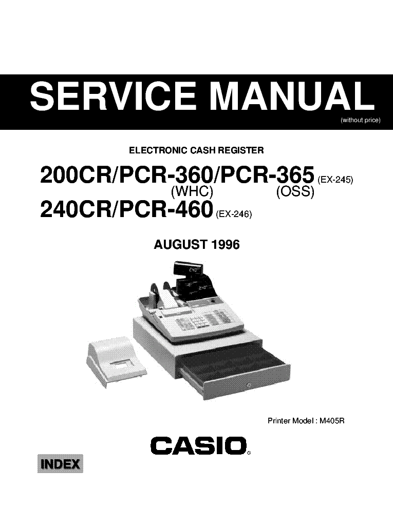 Casio sa21 service manual immediate download.