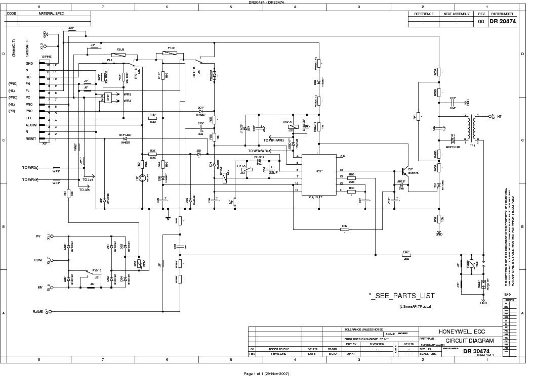 honeywell ignition control am10xx tm10xx sch service manual download  schematics  eeprom  repair
