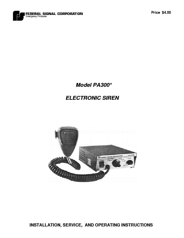federal_pa300_siren_sm.pdf_1 federal pa300 siren sm service manual download, schematics, eeprom federal signal pa300 wiring diagram at gsmportal.co