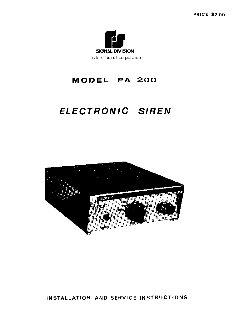 federal_signal_pa200_service_manual.pdf_1 federal signal pa200 service manual service manual download wiring diagram for federal signal pa300 at fashall.co