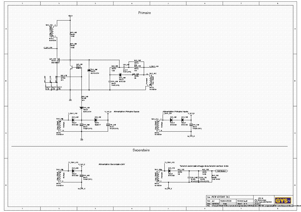 Gysmi 165 Inverter Service Manual Download Schematics
