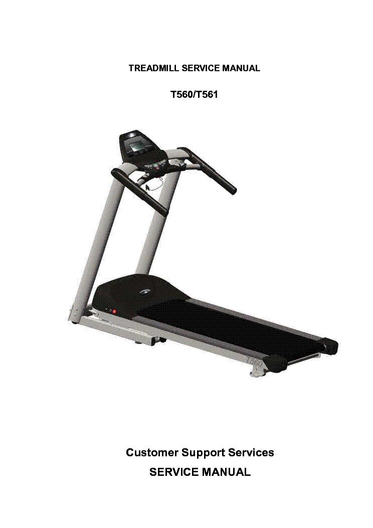 healthstream marquee treadmill manual