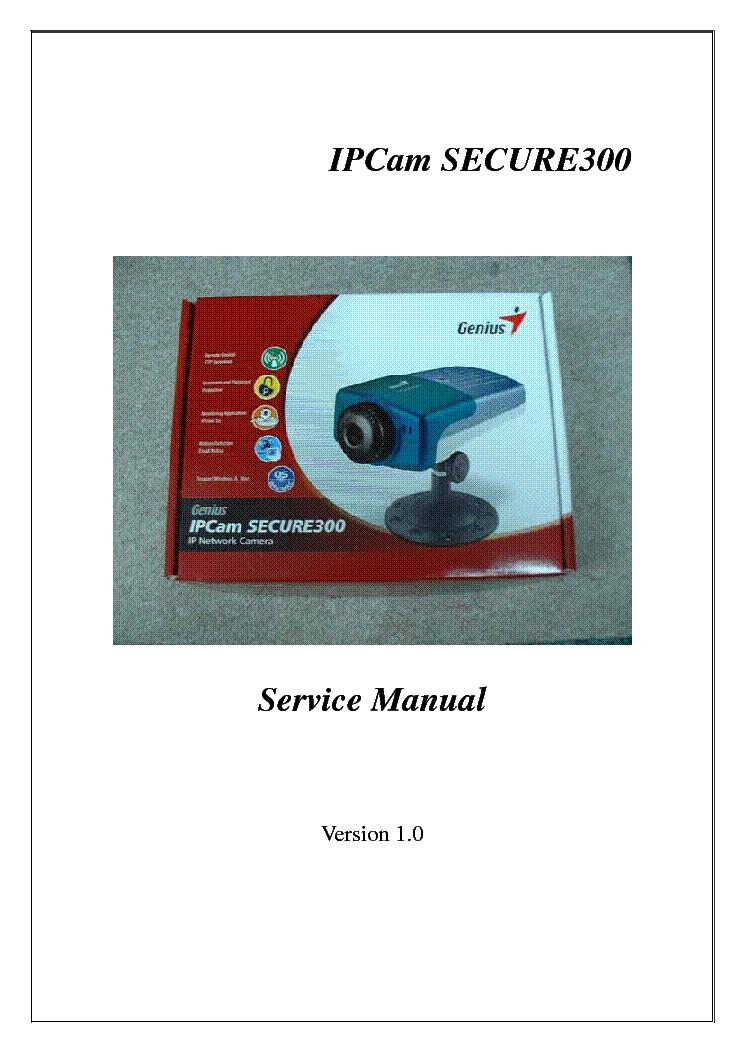 Genius IPCAM SECURE300 Treiber