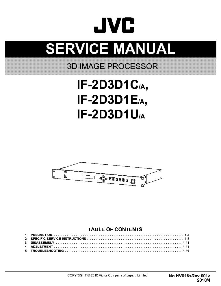 JVC QL-Y5F LEMEZJATSZO Service Manual download, schematics, eeprom ...