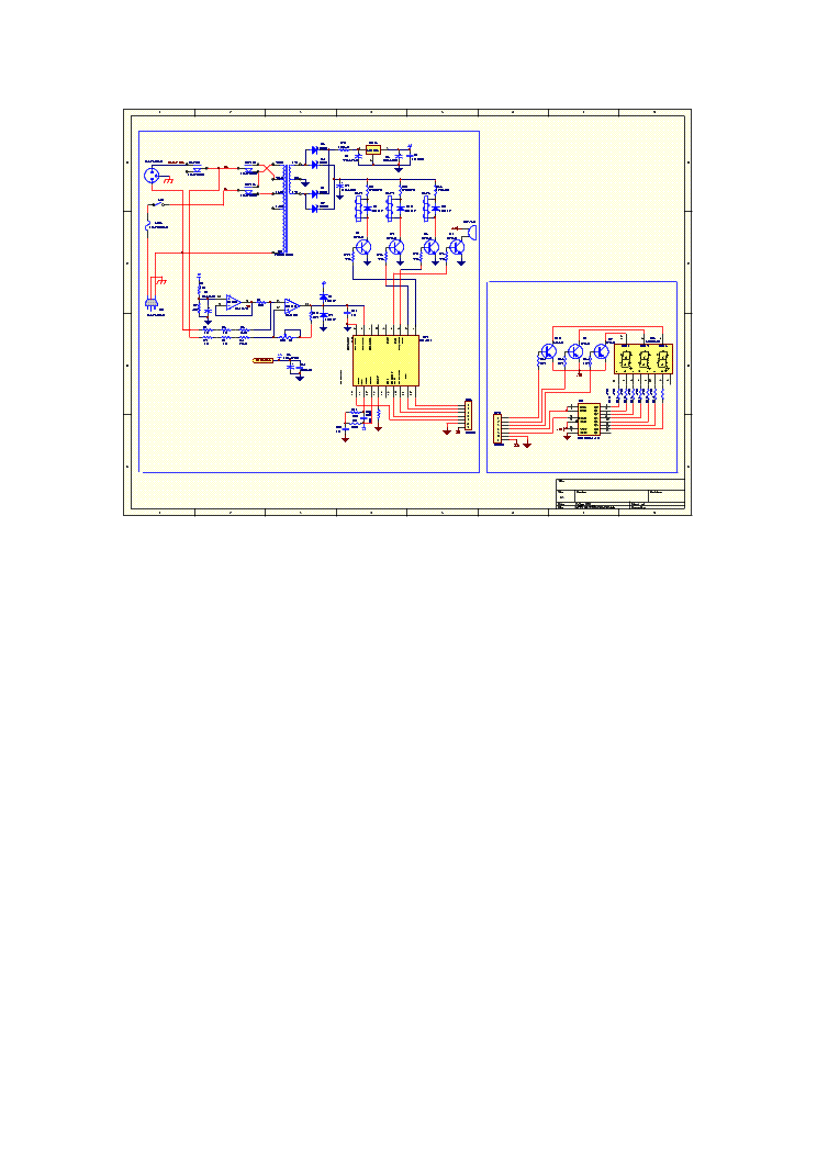LUXEON VMARK AVR-500D AUTOMATIC VOLTAGE REGULATOR SCH Service Manual