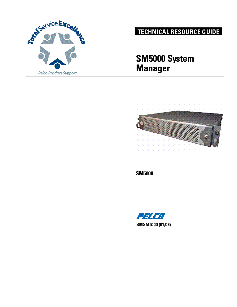 Pelco Kbd5000 Keyboard Sm Service Manual Download