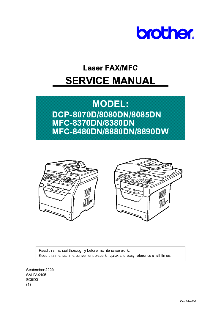 brother mfc8890dw dcp8070d dcp8080dn dcp8085dn mfc8480dn service rh elektrotanya com brother service manual hz3b91 brother service manual pdf