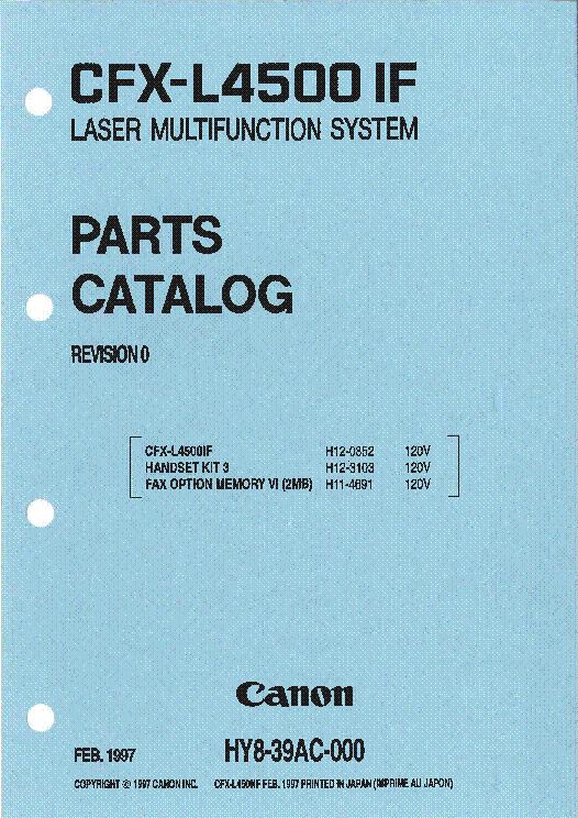 Canon CFX-L3500 Toner Cartridges