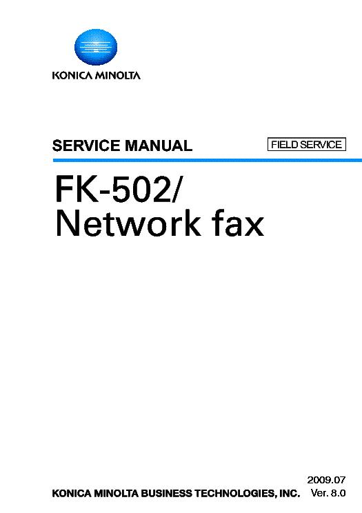 DRIVERS FOR KONICA MINOLTA FK-502