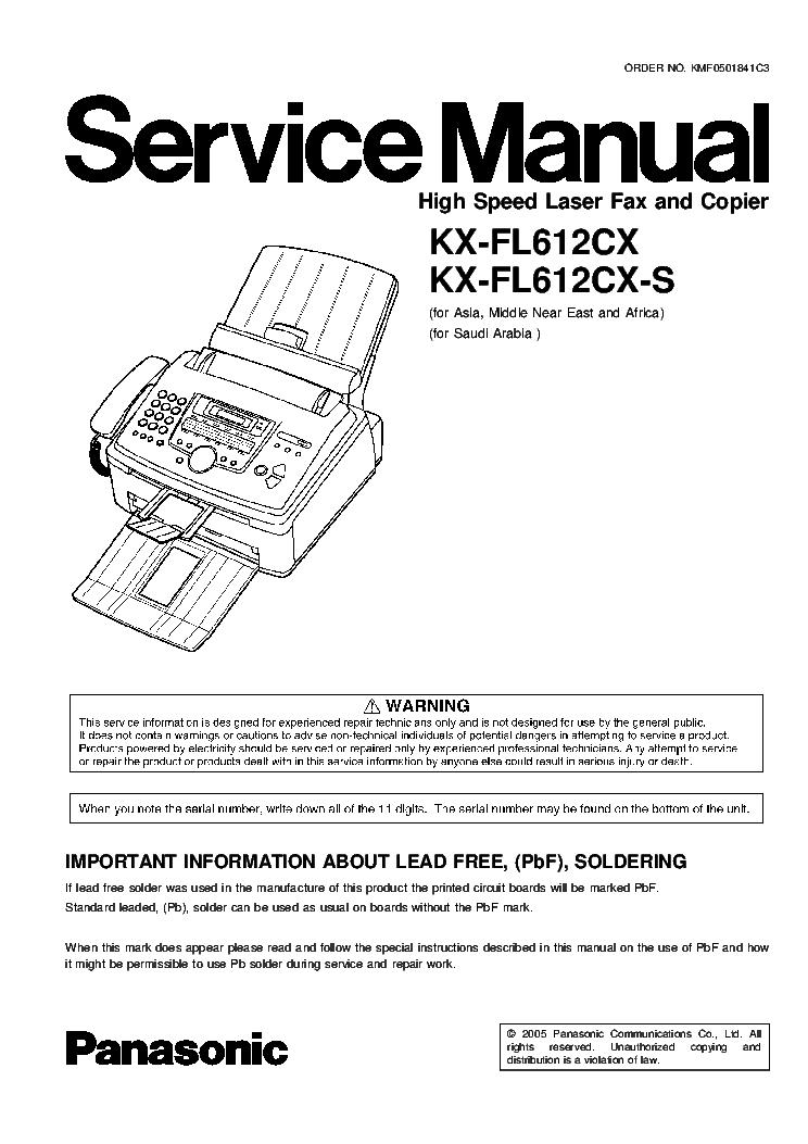 PANASONIC KX-FL612 DRIVER FOR WINDOWS DOWNLOAD