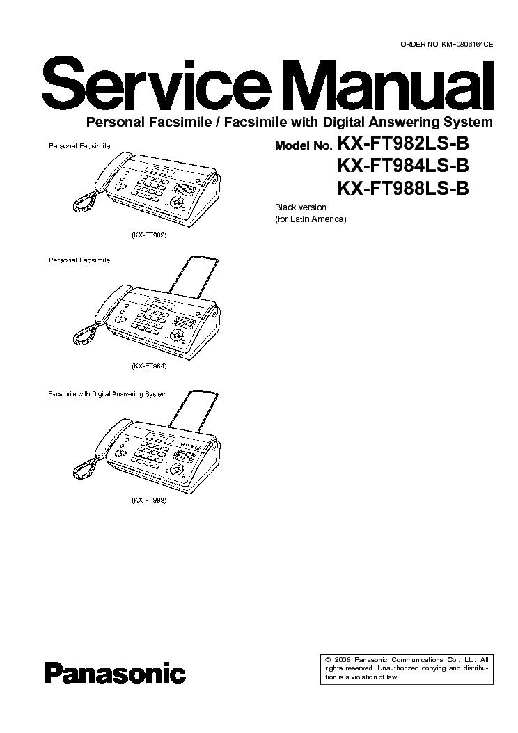 Инструкция Телефонного Аппарата Panasonic Kx-T7633