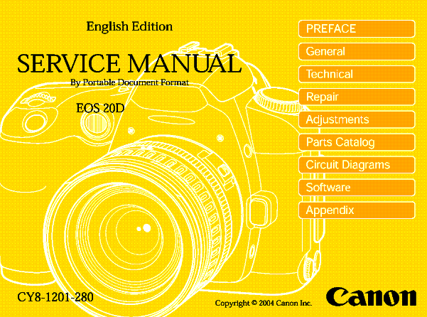 canon eos 20d sm service manual download schematics eeprom repair rh elektrotanya com manual canon eos 80d manual canon eos 80d
