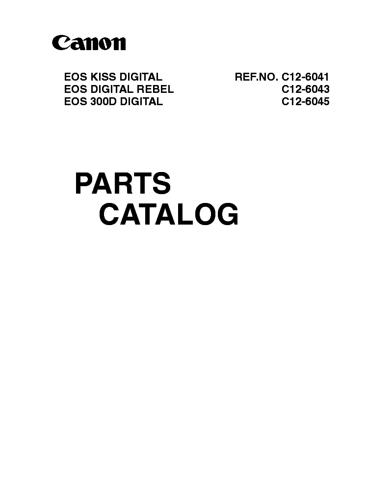 canon eos 300d service manual service manual download schematics rh elektrotanya com canon eos 300d repair manual canon eos 300d service manual pdf